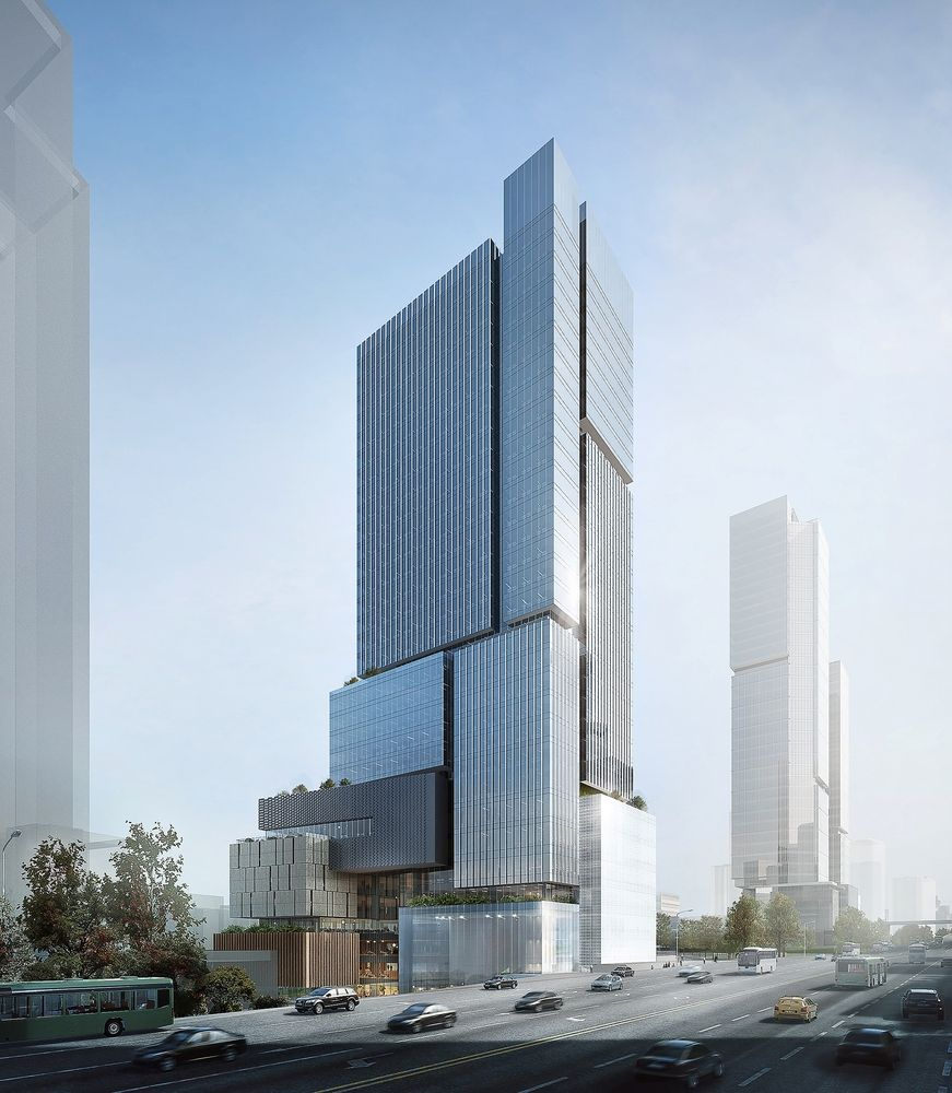 Gallery of EID Wins Competition for Stacked Block Mixed