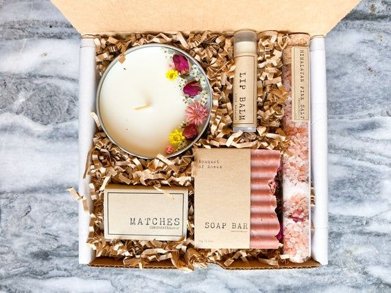 Bath & Beauty box | Spa gift set for her | Gift box for woman | gift box