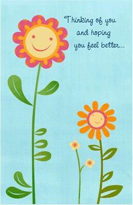Feel Better Flower Feel Better Pinterest Feelings Hope Youre