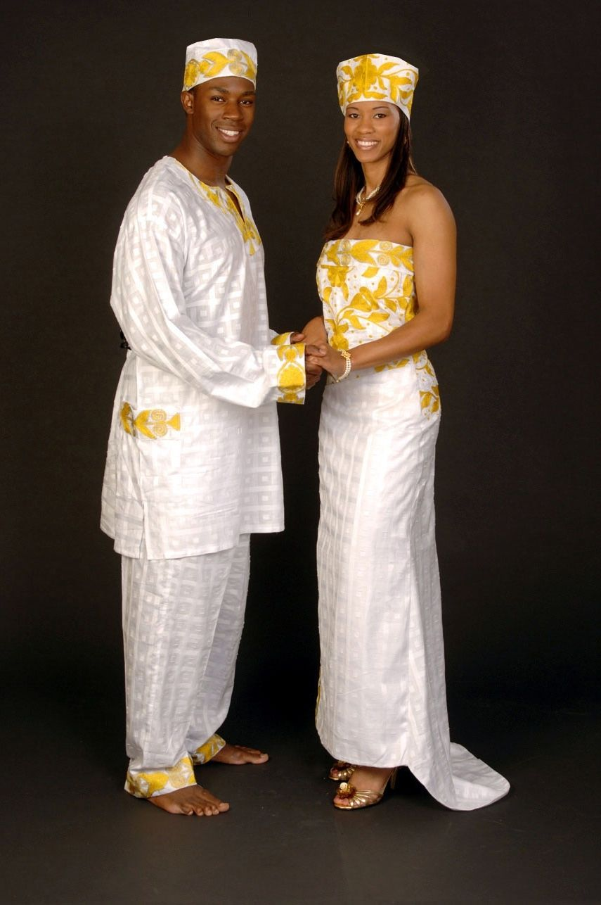 West African Wedding Dresses - Unique Wedding Ideas