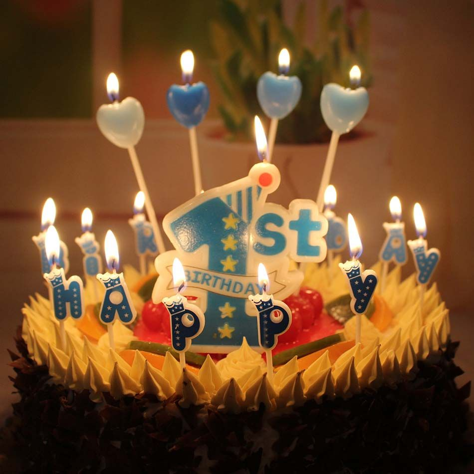 Wholesale New Baby Years Old Big 1 Digital Candle Blue Pink Smoke Free Cake Decoration Click On The Image For Additional Details HomeDecor