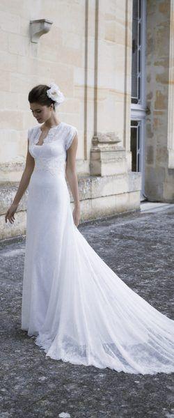 gefunden bei HAPPY BRAUTMODEN Brautkleid Hochzeitskleid elegant ...