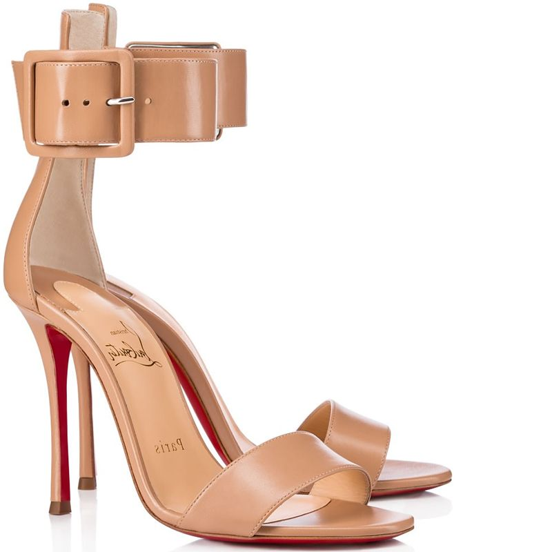 fafd1a28ec88 Christian Louboutin Blade Runana Leather Sandal Spring 2018