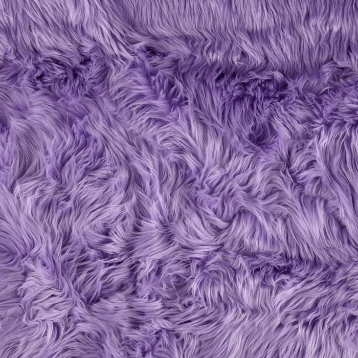 Super Luxury Faux Fur Fabric Material PLUSH SUPER SOFT BLUE