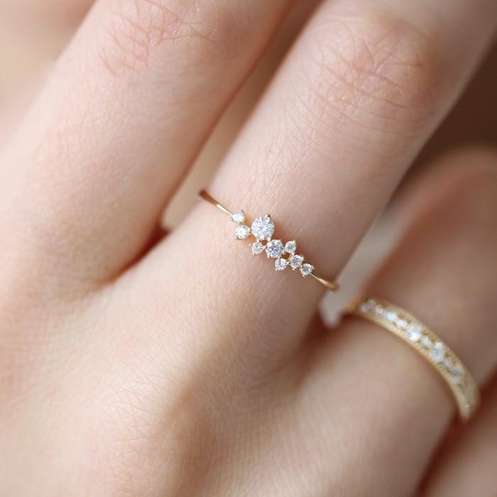 Anillo de 3 piedras preciosas de vid – fabricación de joyas9.tk | Joyería de bricolaje