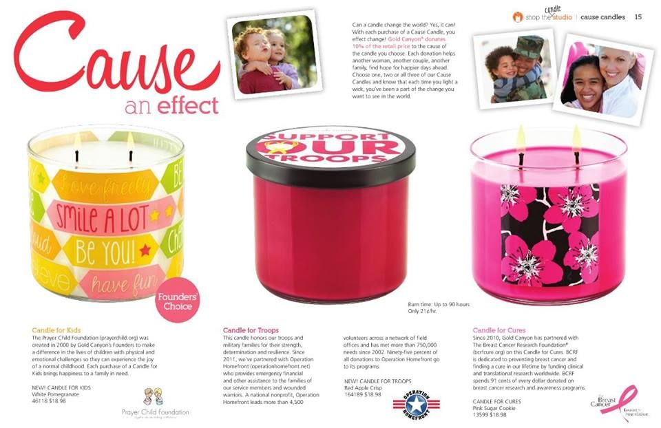 Candles for a Cause! Candles