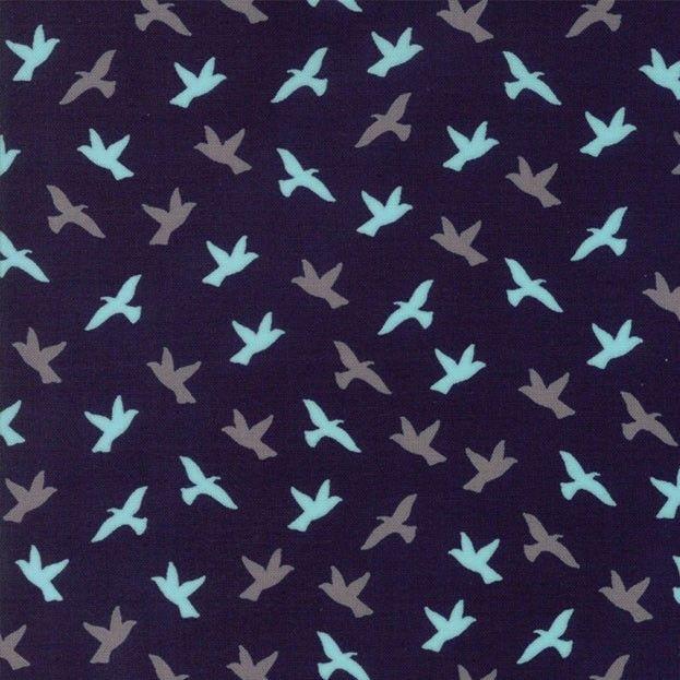 Baumwollstoff Patchworkstoff Soar In Midnight Schwarz Serie Creekside Design Von Sherri Chelsea 100 Baumwolle Patchworkstoffe Stoffe Baumwolle