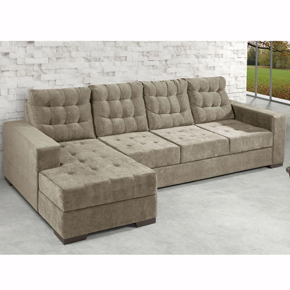 Awe Inspiring Sofa 3 Lugares C Chaise Marrocos Mam Estofados Em 2019 Machost Co Dining Chair Design Ideas Machostcouk