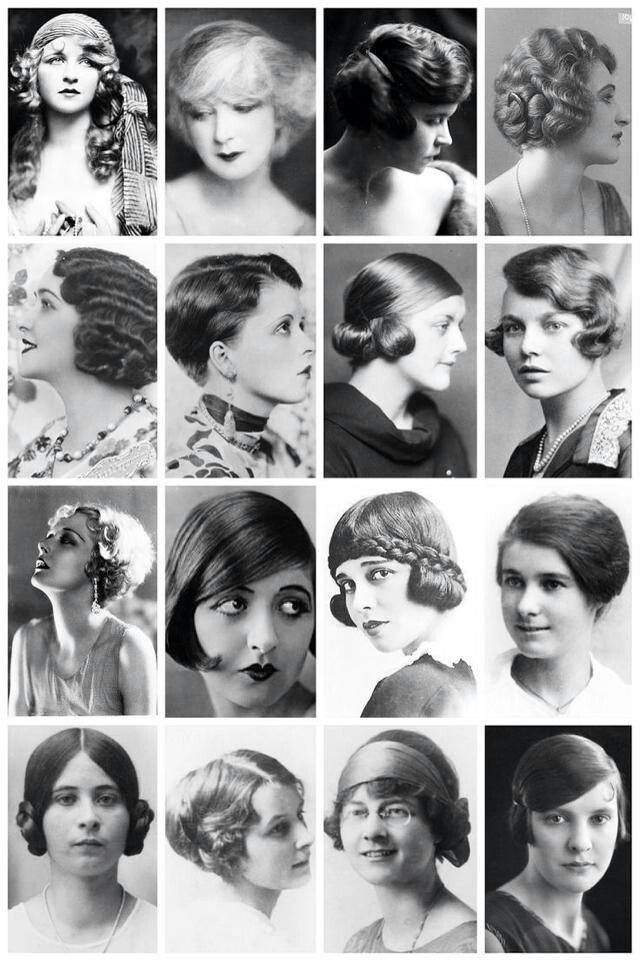 hair style editor 1920s hairstyle vintage fashion style flapper bob 1918