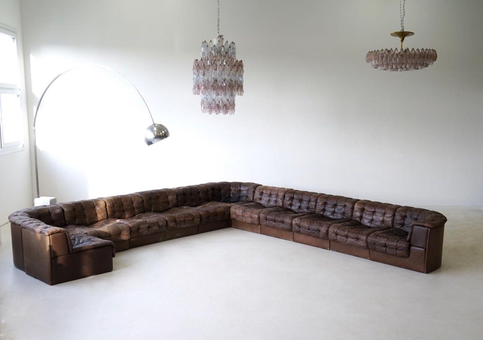 De Sede Ds 11 Leder Element Modular Sofa Lounge Sofalandschaft