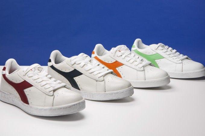 Primavera a colori con le Diadora Game | Sneaker bianche