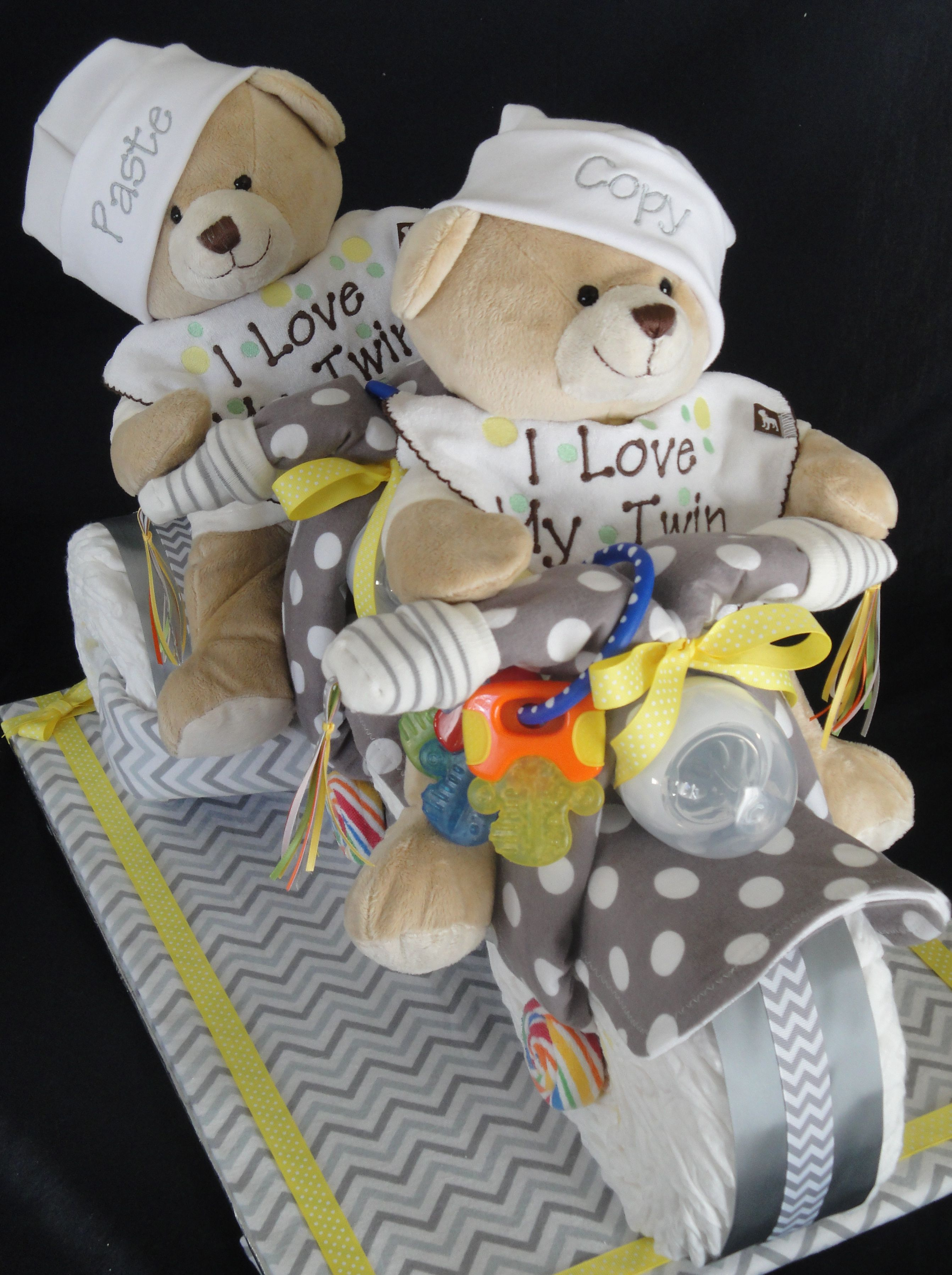 Twins Diaper Cake Tricycle Built For Two Www Facebook