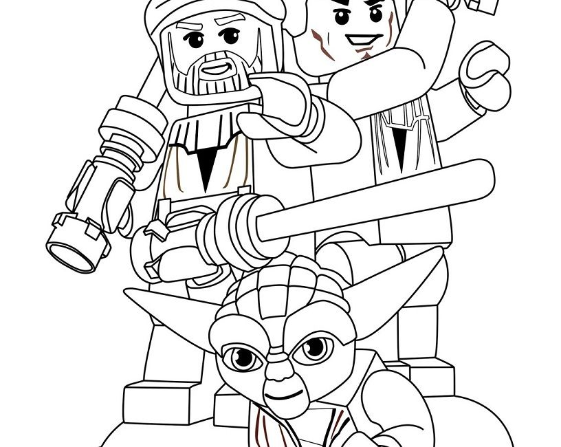 lego star wars coloring in pages