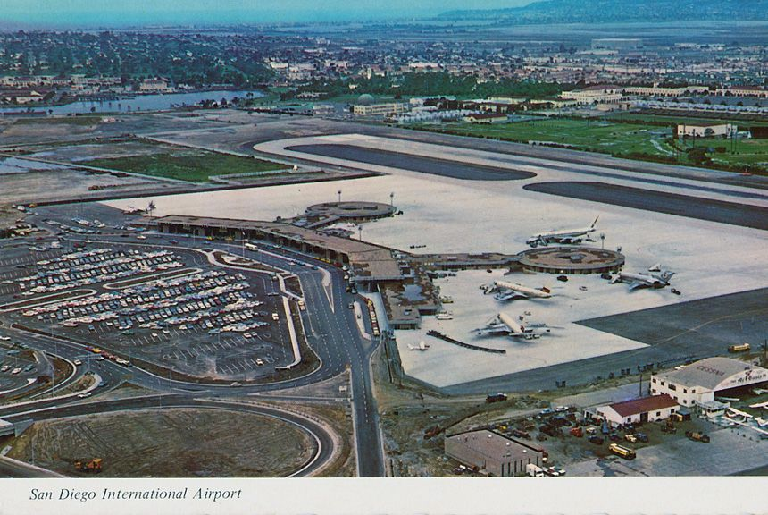 1960 S Terminal 1 At San Diego International Airport