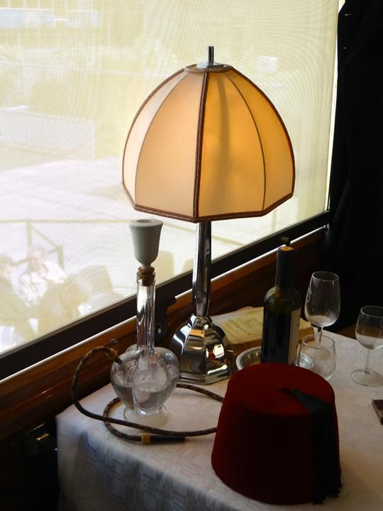 Once Upon A Time On The Orient Express At Institut Du Monde Arabe Orient Express Table Lamp Decor