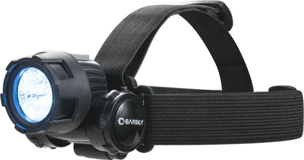Barska 25 LUM Headlamp Black Flashlight, Headlamp, Water