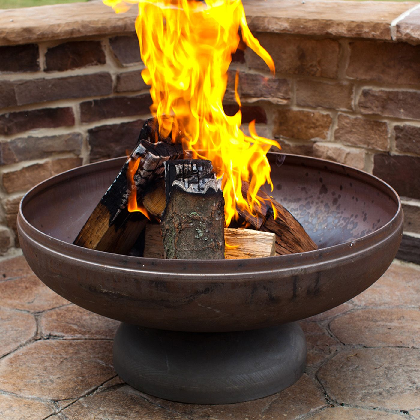 Shop Ohio Flame Patriot Fire Bowl At The Mine Browse Our Fire
