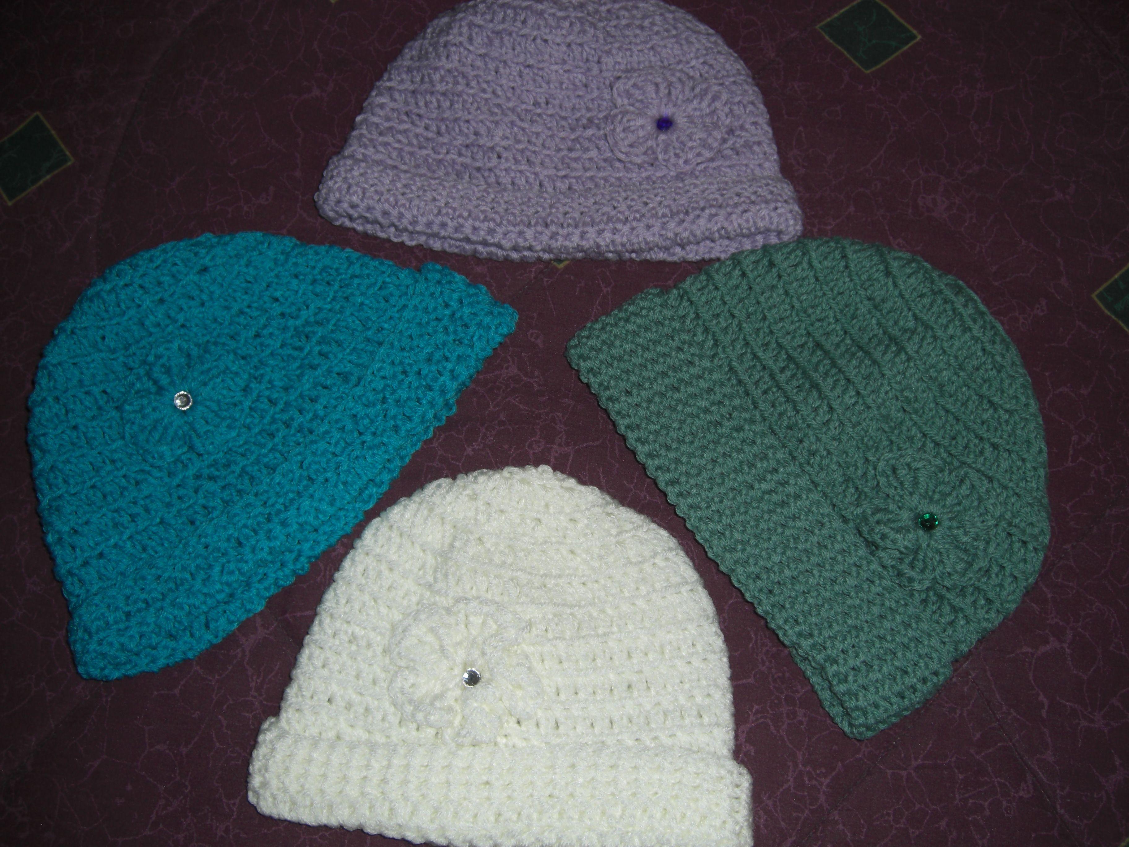Crochet hats for Cancer patients Crochet Hats ...