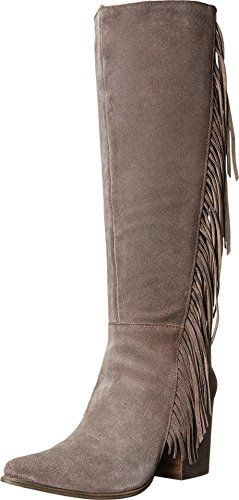 Steve Madden Women's Cacos Winter Boot, Taupe Suede, 7 M US ** Details