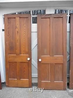 Vintage Solid Wood Doors For Interior Mix Match