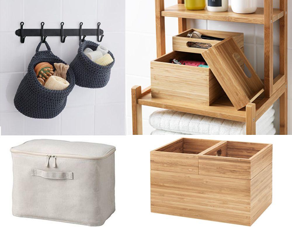 Organising the bathroom