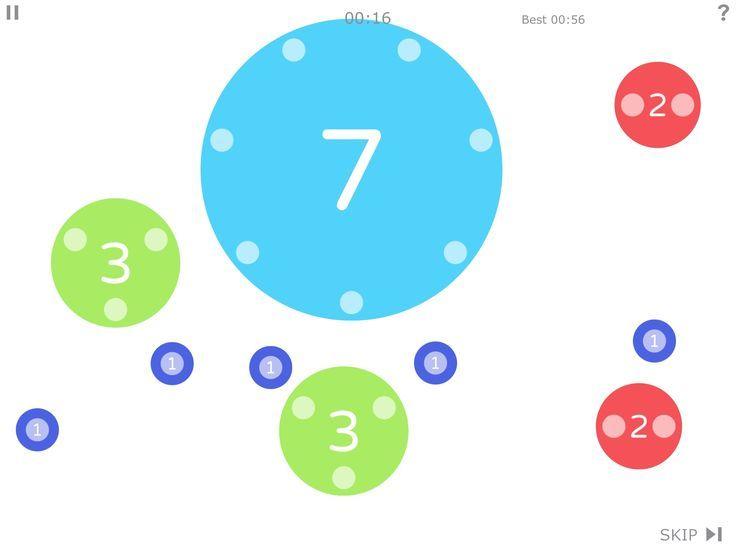 If your kids need a little math help, Dexteria Dots app lets them ...