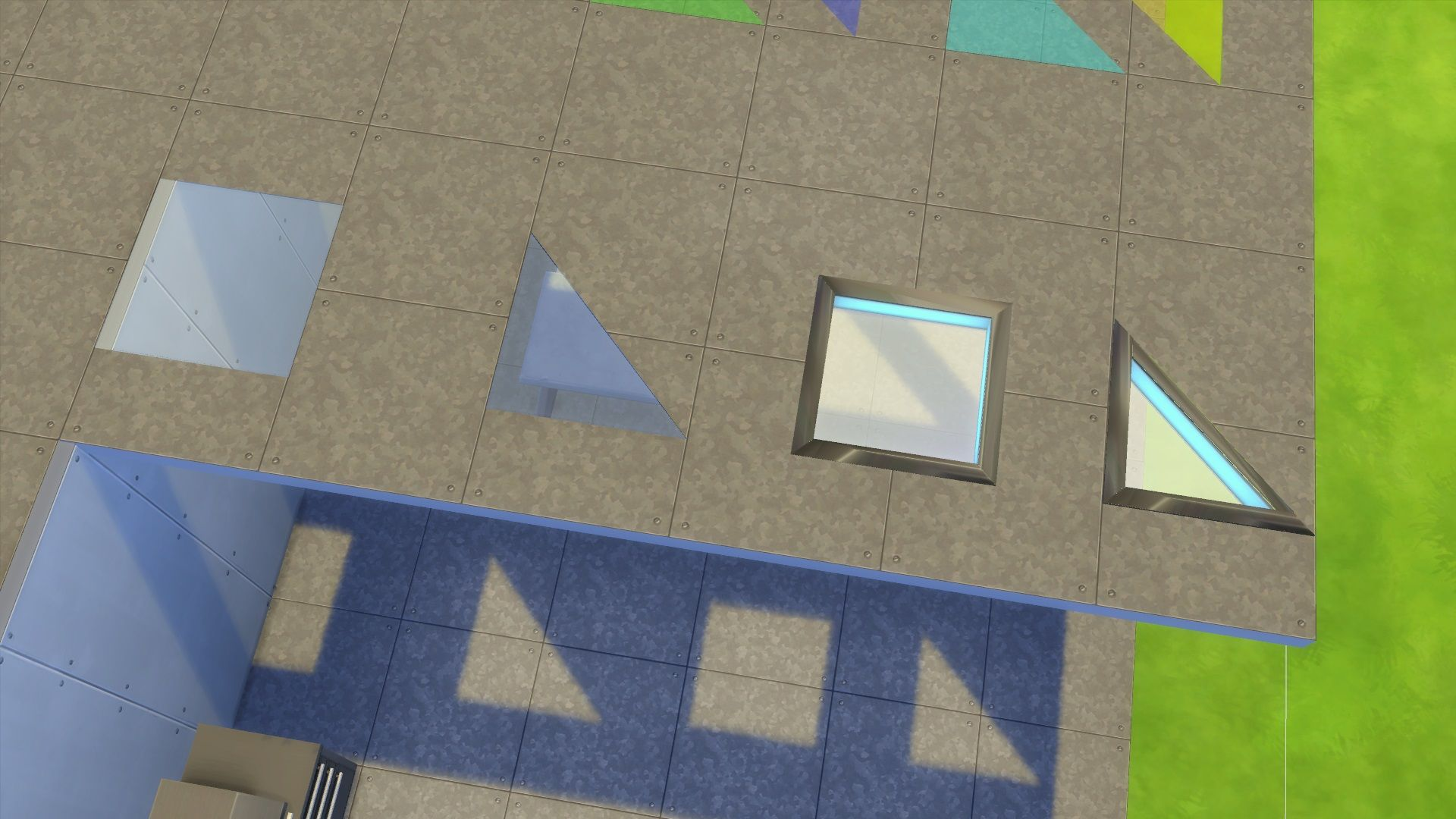 Mod The Sims Various Transparent Floor Pieces Updated 10 5 2018 Glass Floor Flooring Glass Tile