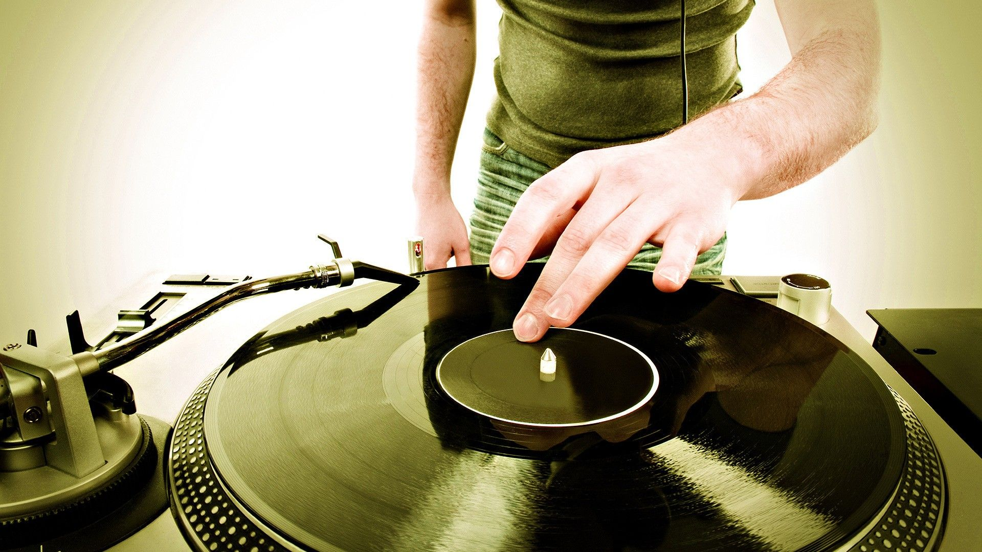 DJ wallpaper turntables Turntable, Vinyl