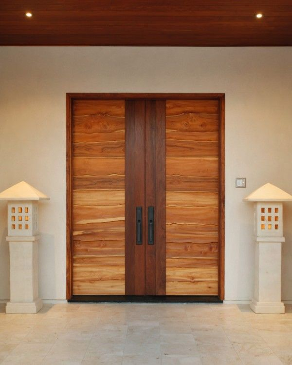 Over Sized Door Front Doors. Double Doors. Contemporary Entry And Front  Porch.