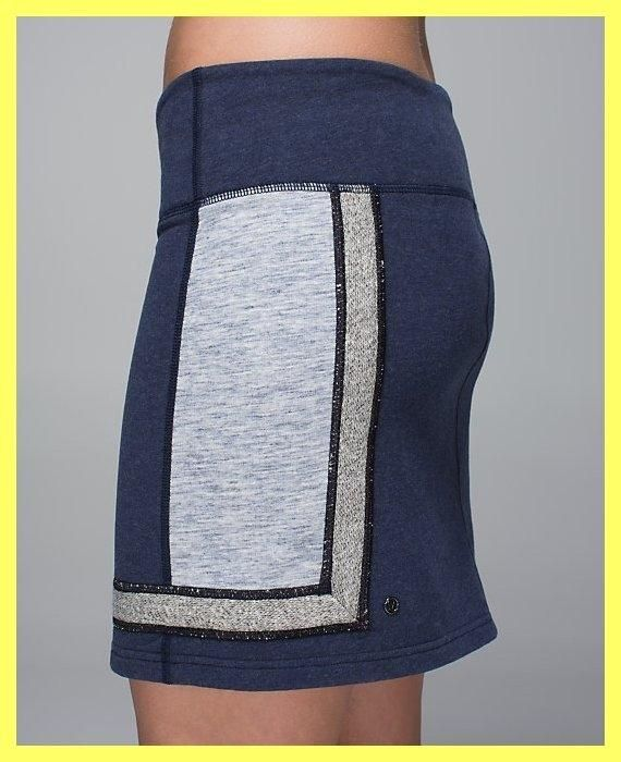 Lululemon Heathered Gray / Deep Navy / Black / Space Dye Refresh French Terry Skirt. Free shipping and guaranteed authenticity on Lululemon Heathered Gray / Deep Navy / Black / Space Dye Refresh French Terry SkirtNew With Tags Lululemon Athletica 'Refresh Skirt' ...