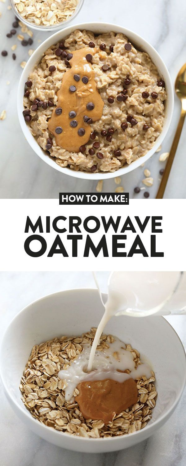 Only have a couple of minutes for breakfast? Make either ...