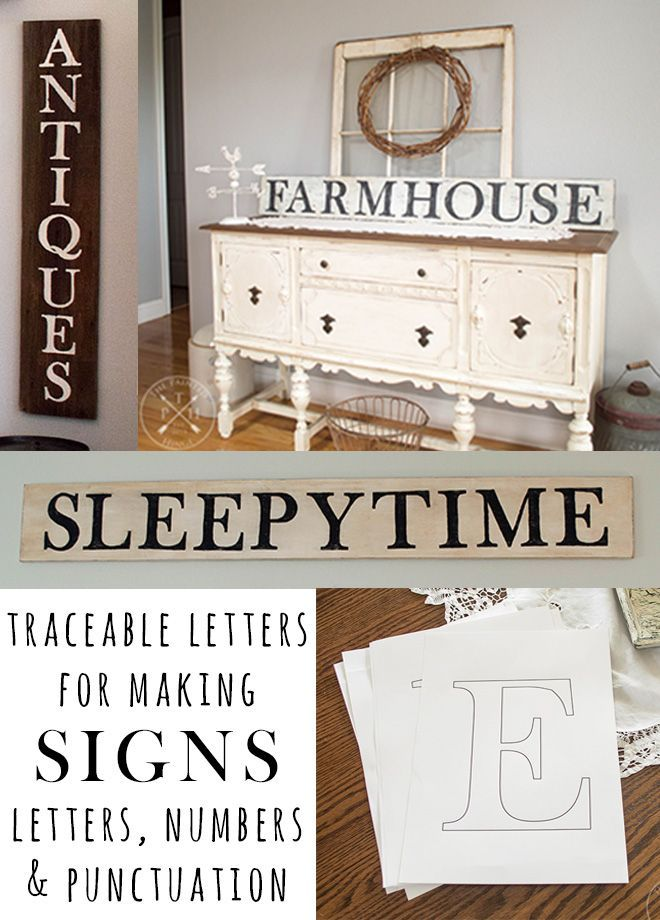 Free Printable Traceable Letters For Making Farmhouse Style Signs Uppercase Letters Free Stencils Printables Letter Stencils Printables How To Make Signs