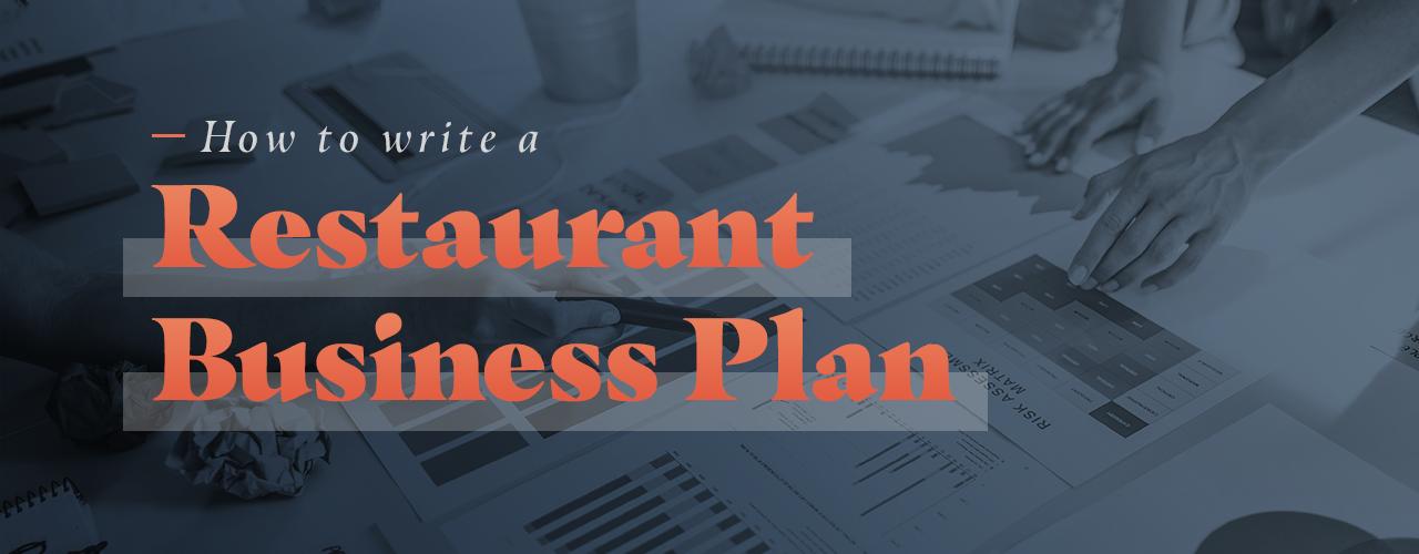 Restaurant business plan writers