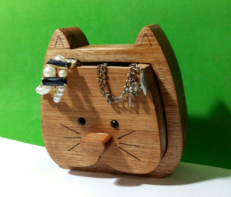 Porta jóias gatinho