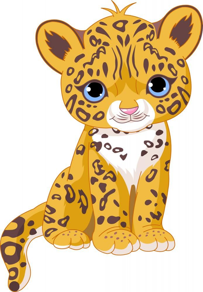6a795404 Cute Jaguar Cub | Decals by Wallmonkeys.com | Decals for Kids ...