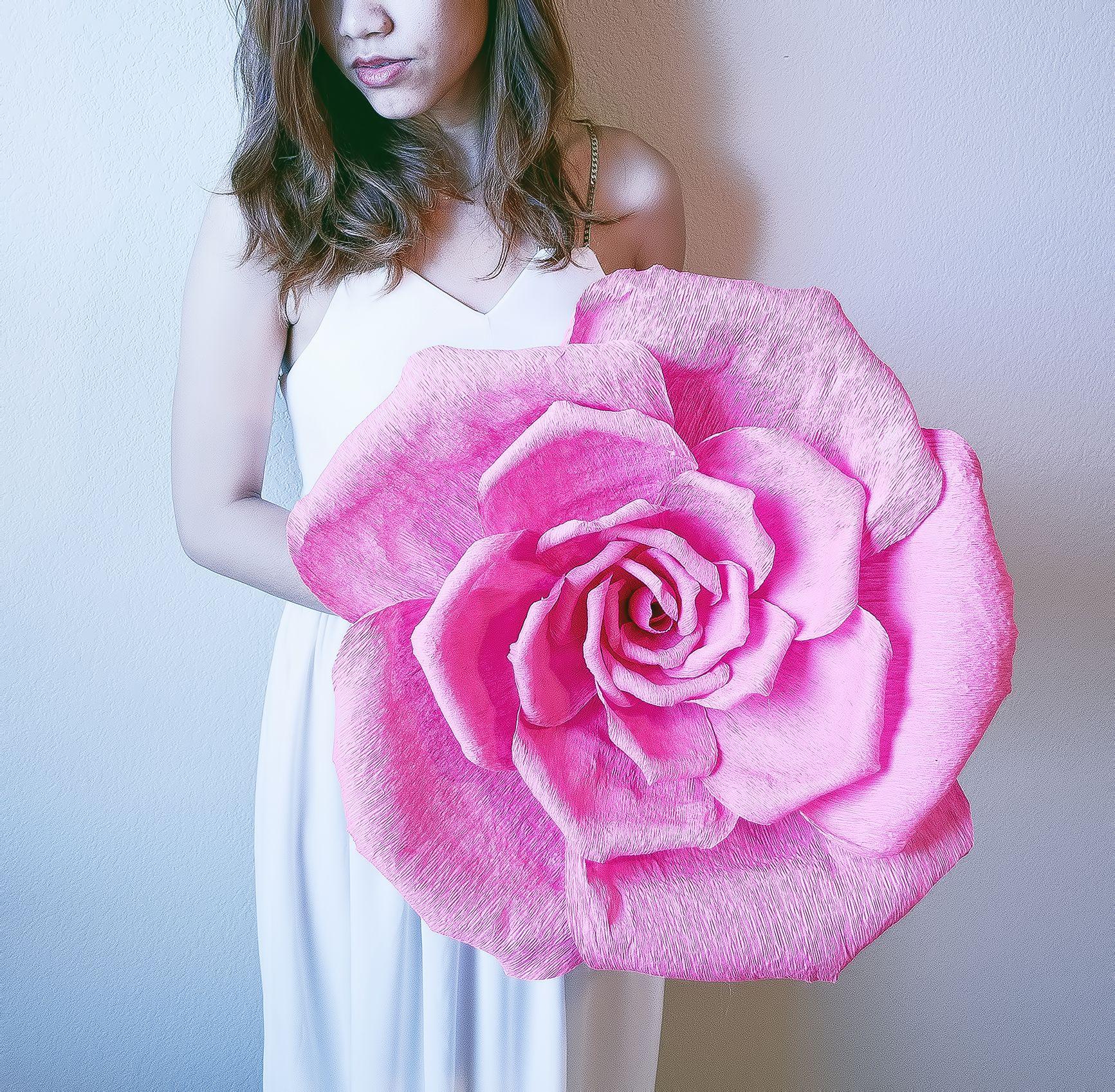 Handmade Giant Paper Flower Decorating Idea Pinterest Flower
