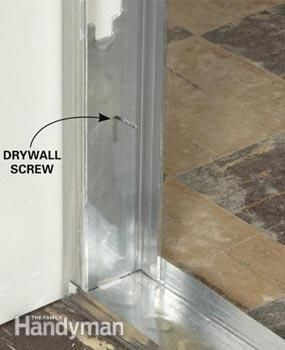 Metal Studs How To Use And Frame With Metal Studs Metal Stud Framing Drywall Installation Frames On Wall