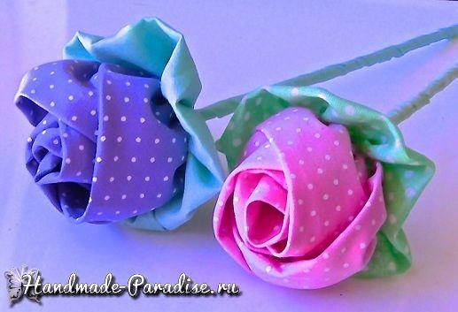 blumen aus stoff selber basteln, blumen-aus-stoff-selber-basteln-dekoking-com-2 | handmade flower, Design ideen