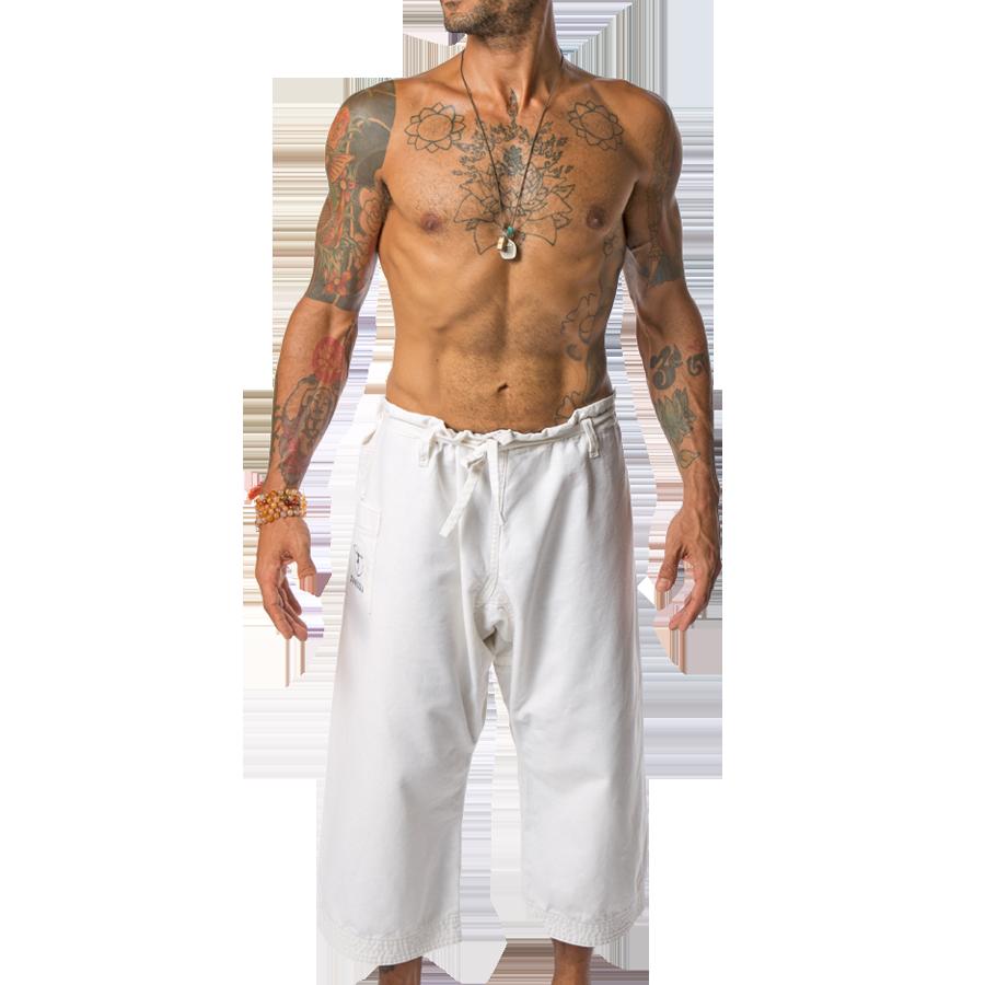 White Yoga Pants for Men | Yoga and Male yoga pants