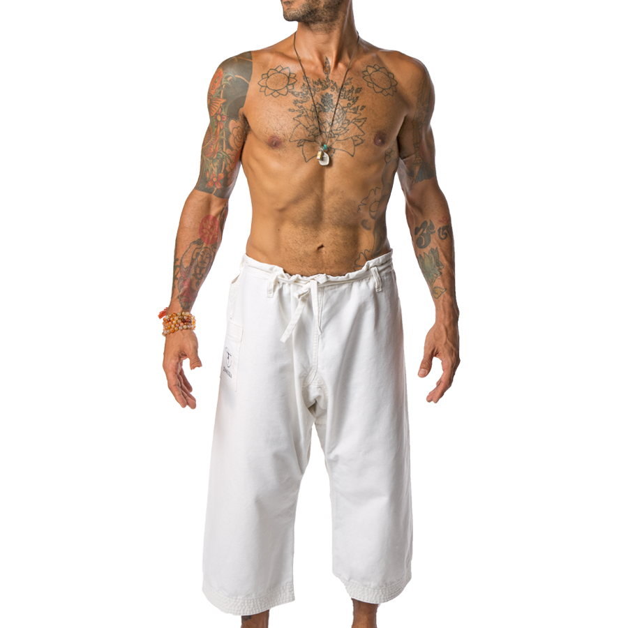1d4e654b8f3f40 White Yoga Pants for Men | yoga pants for men | Yoga for men