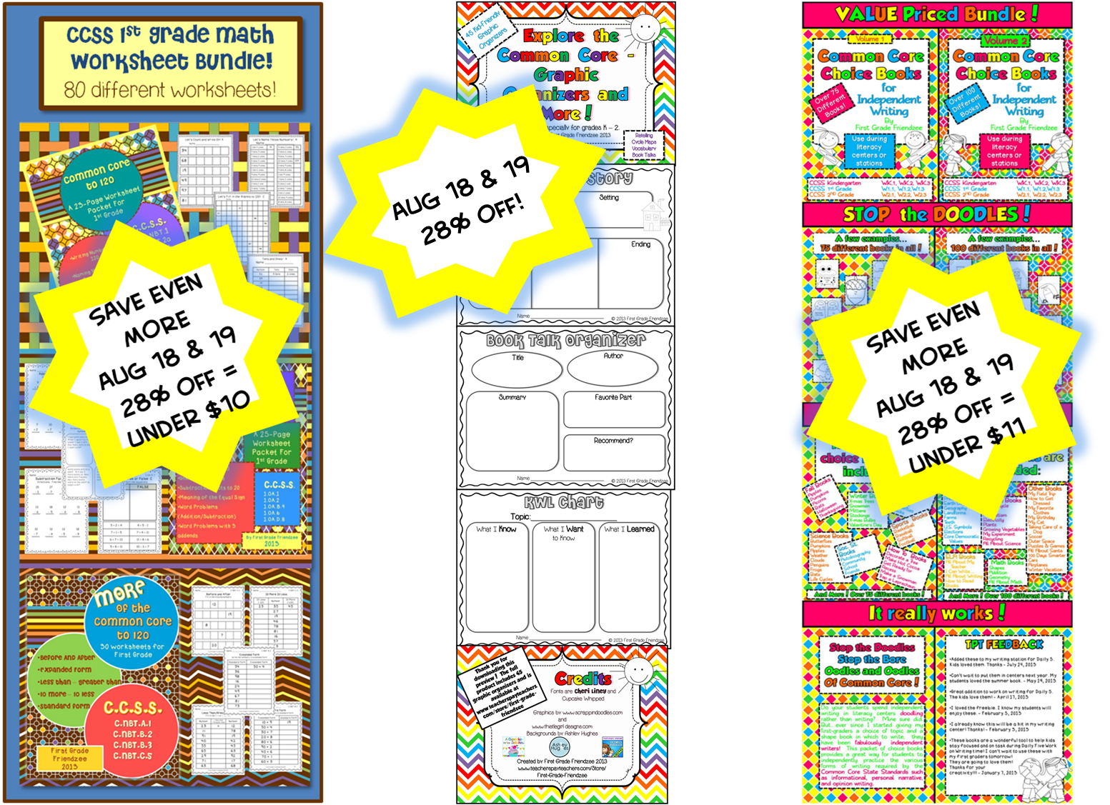 First Grade Friendzee And Tpt Are Having A Sale 28 Off
