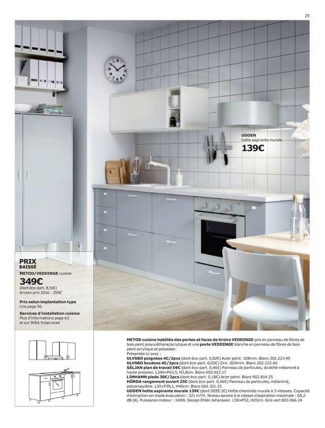 Cuisine Ikea Coup D Oeil Sur Le Nouveau Catalogue 2017 Ikea