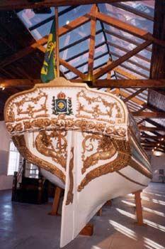 Galeota Imperial Construida Em Salvador Em 1808 Apos A Chegada