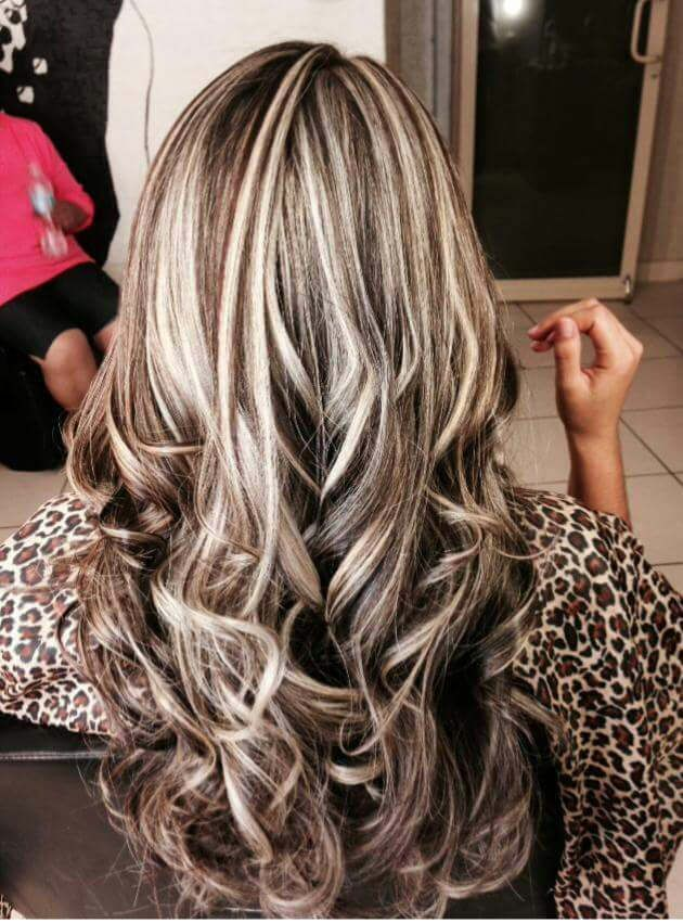 Bold Highlights Highlighted Streaked Foiled Frosted Hair 3