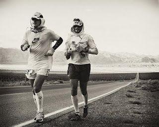Badwater Ultramarathon...135 miles through Death valley in 120 degrees.
