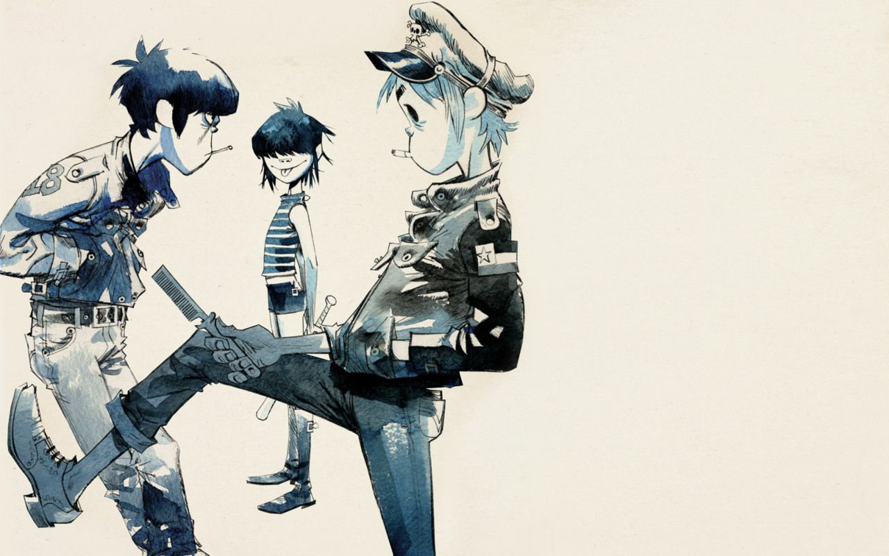 View, download, comment, and rate this 1280x800 Gorillaz
