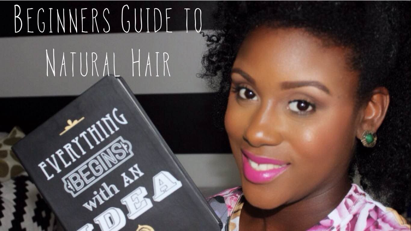 Beginners Guide to Natural Hair | My Top 5 Tips & Tricks