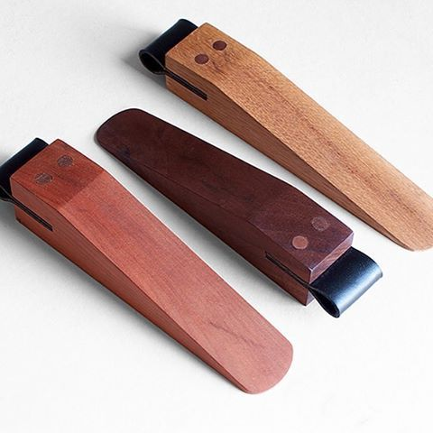 Handmade Wood Door Stops By Fernhandcrafted For The