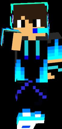 Chico Gamer Pro Nova Skin Gamer Minecraft Skins Minecraft