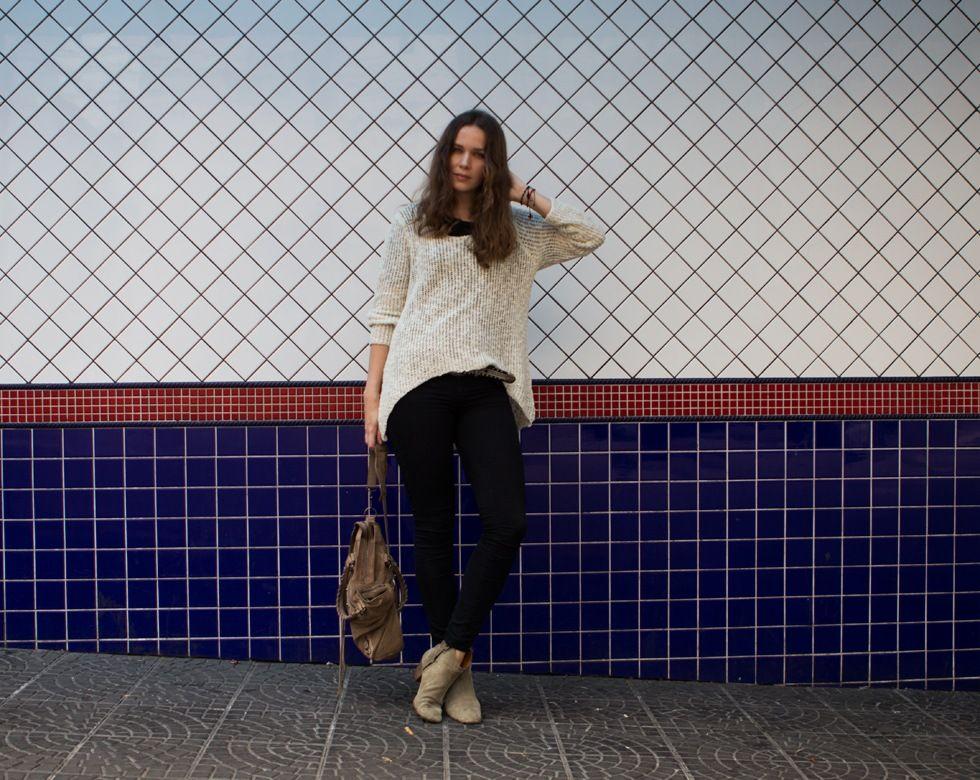Caroline from Caroline's Mode wearing J Brand jeans